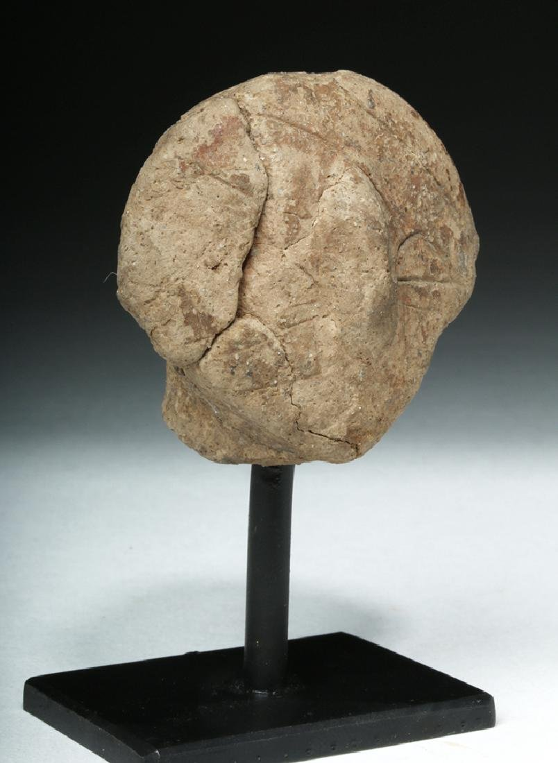 Ancient Vinca Pottery Head - 5