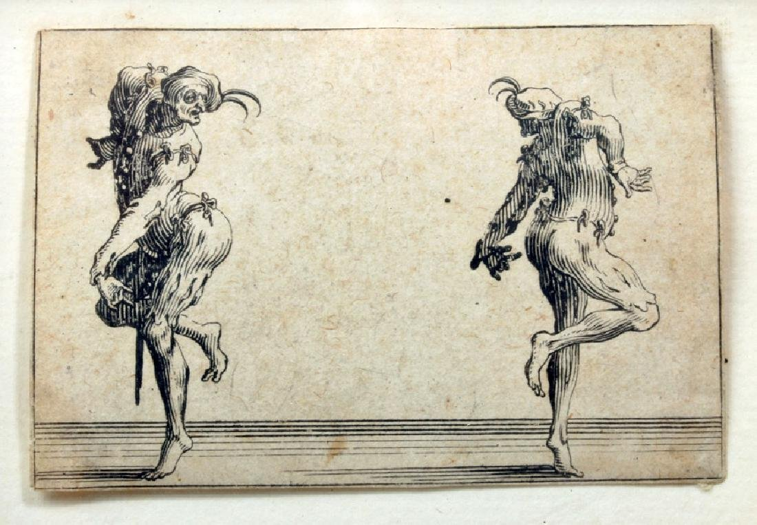 Original 17th C. French Jacques Callot Etching - 3