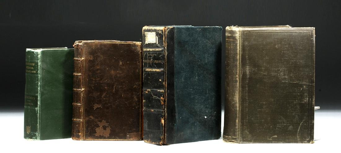 18th to 20th C. Four Medical Textbooks, ex-Historia - 4