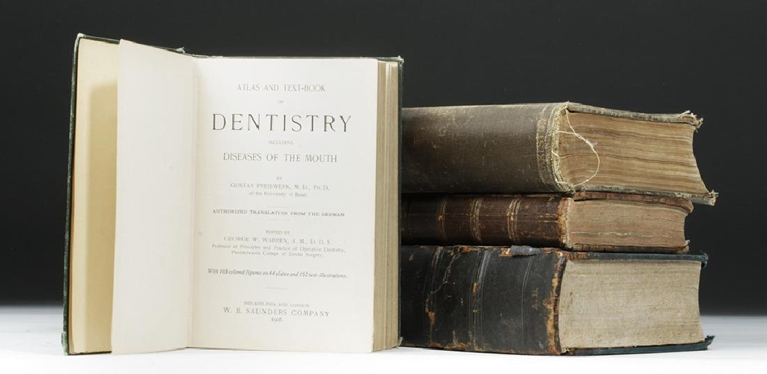 18th to 20th C. Four Medical Textbooks, ex-Historia - 5
