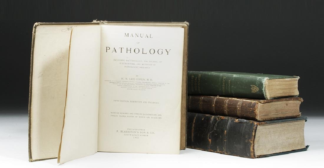 18th to 20th C. Four Medical Textbooks, ex-Historia - 6