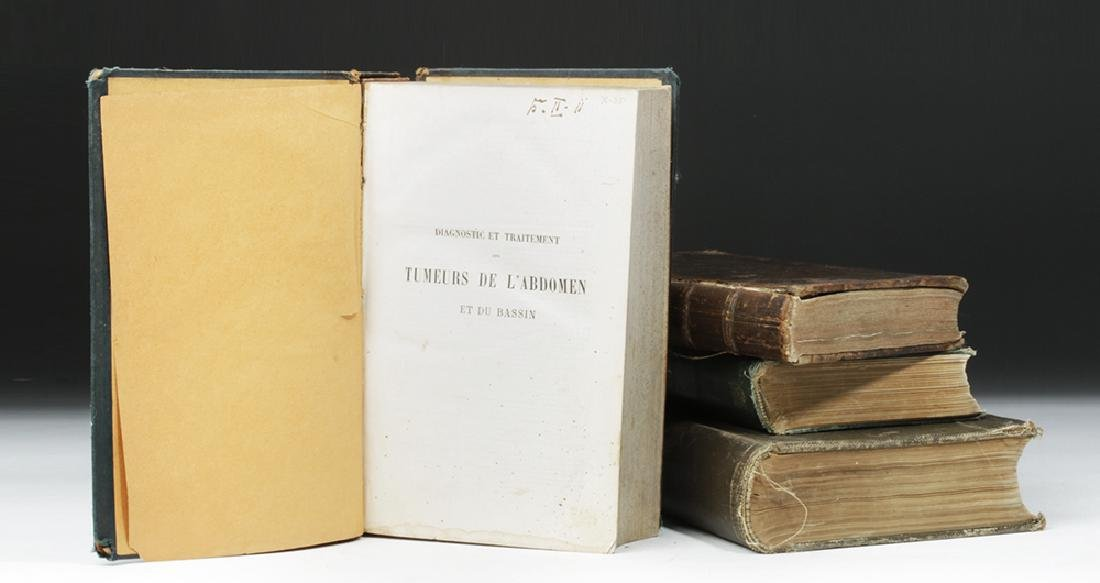 18th to 20th C. Four Medical Textbooks, ex-Historia - 8