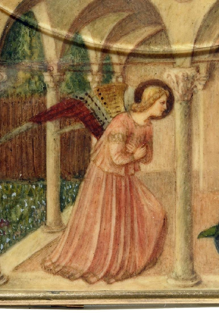 19th C. Souvenir Card - Fra Angelico's Annunciation - 2