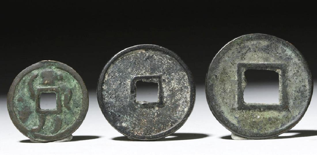 Lot of 5 Chinese Song Dynasty Bronze Charms & Tokens - 6