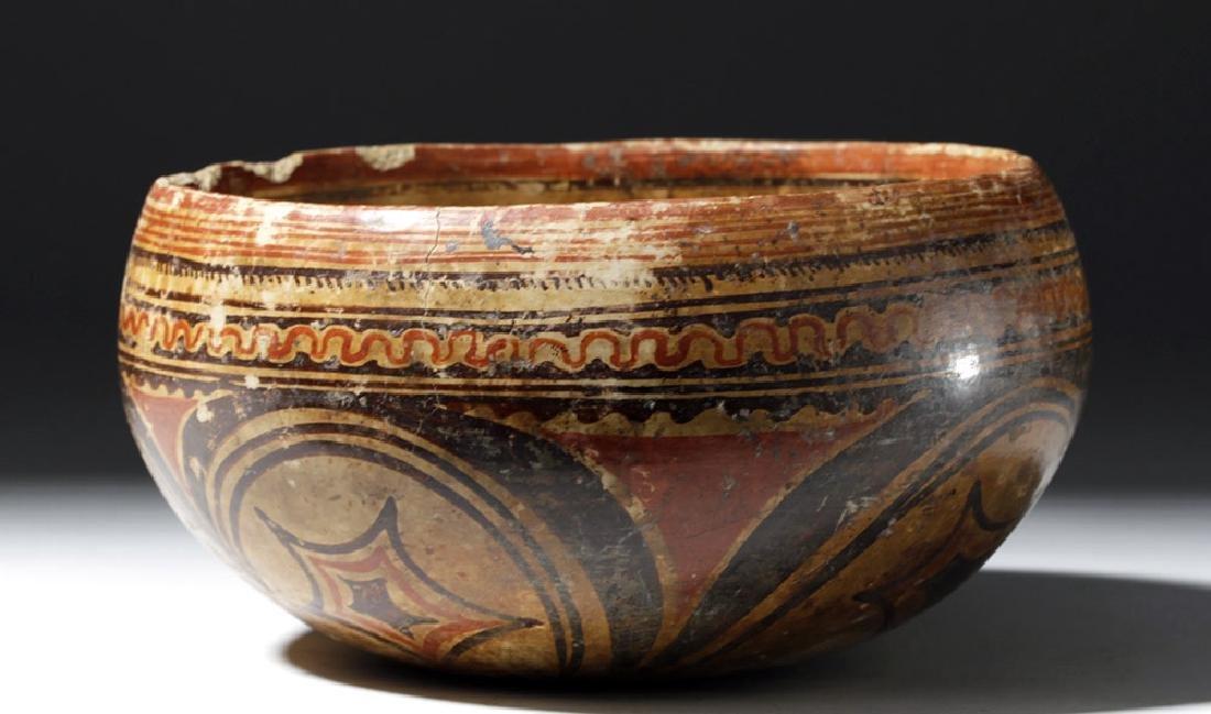 Beautiful Nayarit Polychrome Bowl - 4