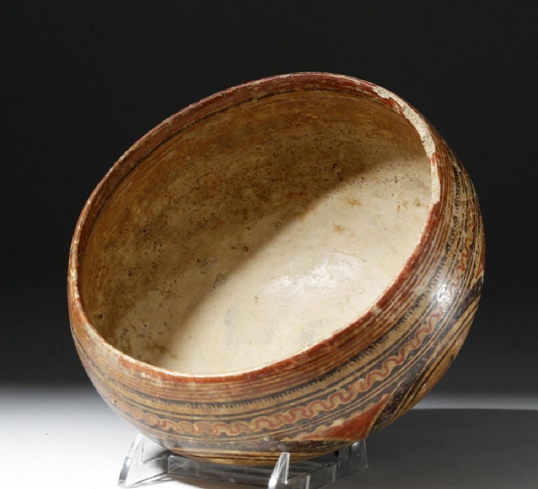 Beautiful Nayarit Polychrome Bowl - 6