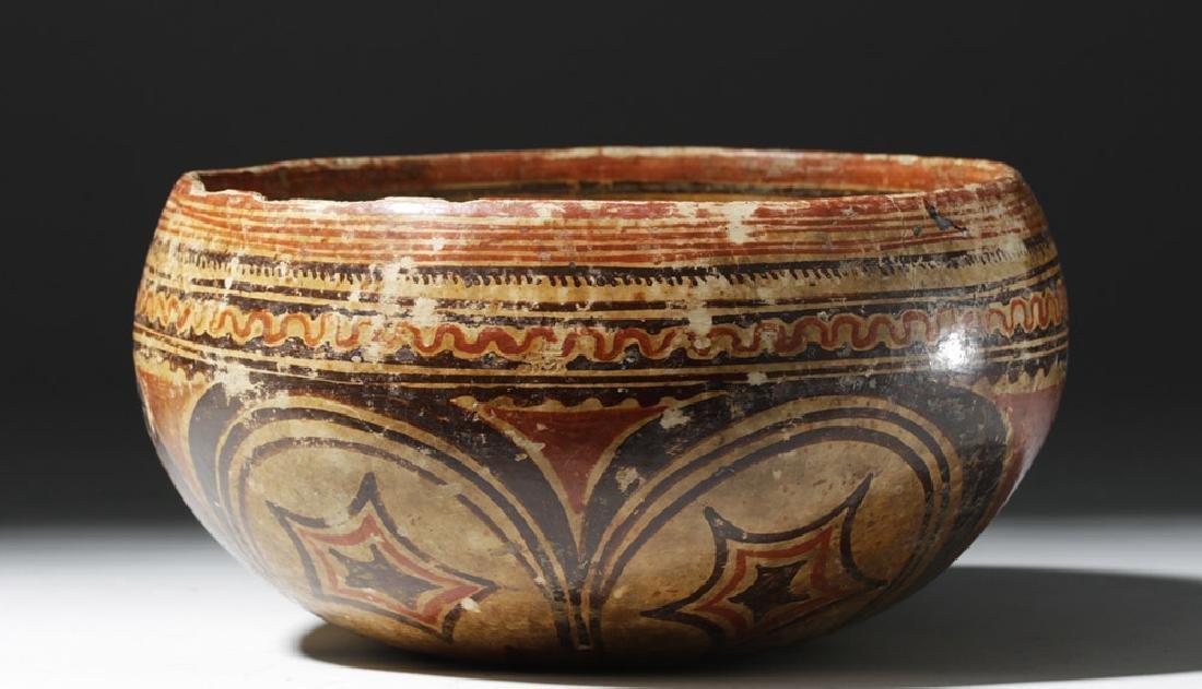 Beautiful Nayarit Polychrome Bowl - 7