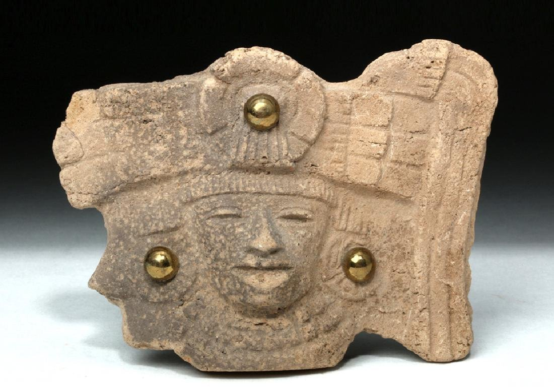 Teotihuacan Pottery Shard Turned Jewelry