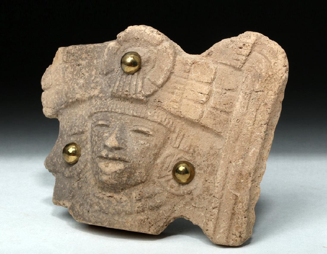 Teotihuacan Pottery Shard Turned Jewelry - 2