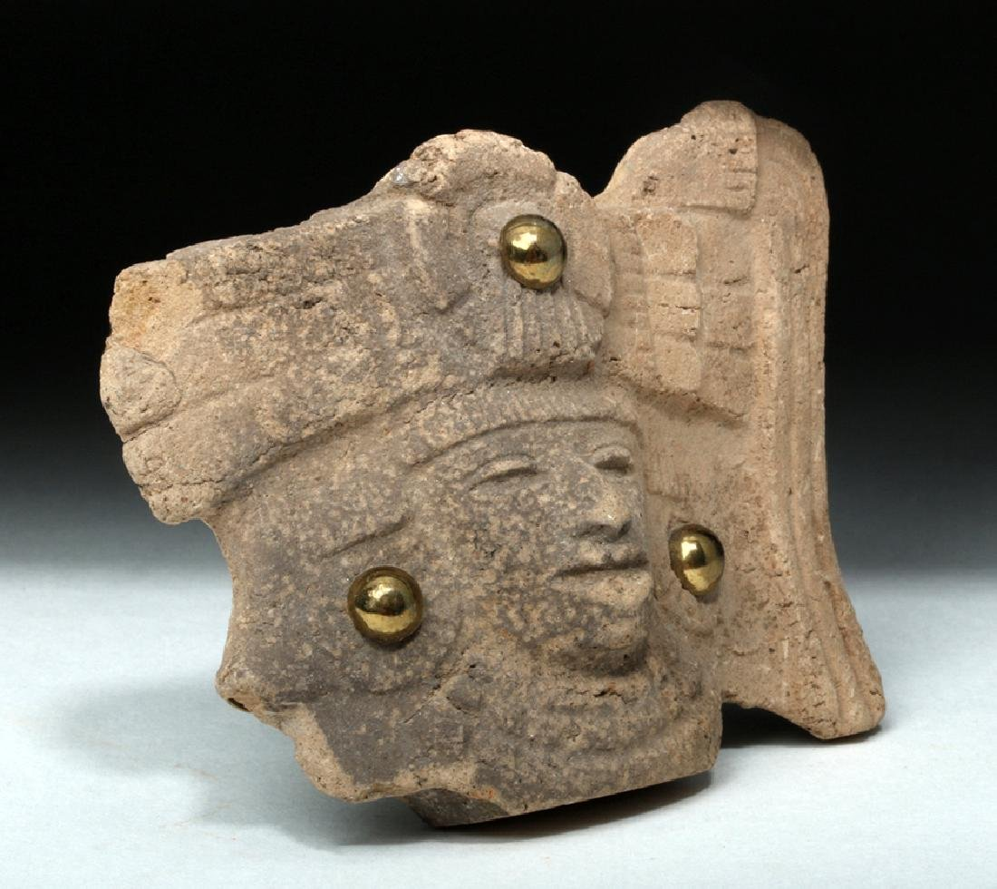 Teotihuacan Pottery Shard Turned Jewelry - 3