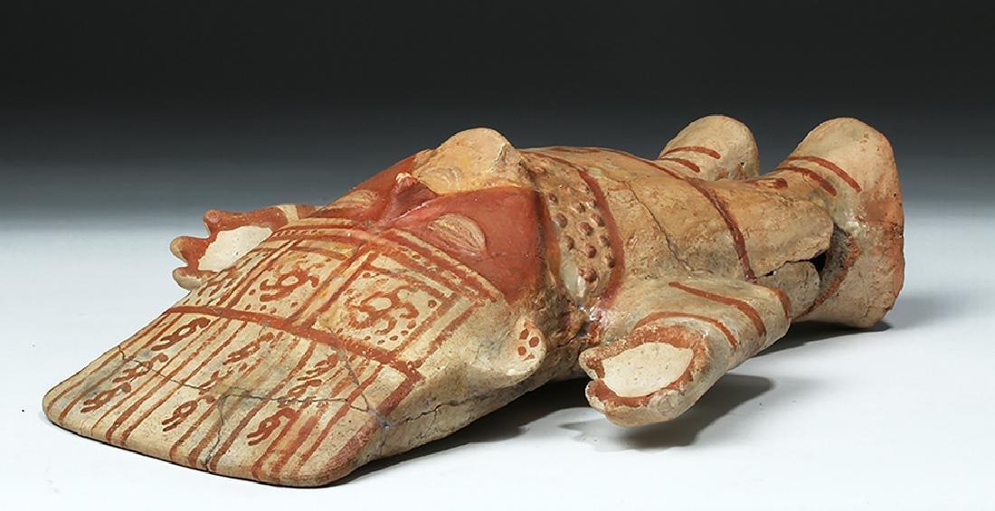 Chancay Pottery Standing Cuchimilco Figure - 7