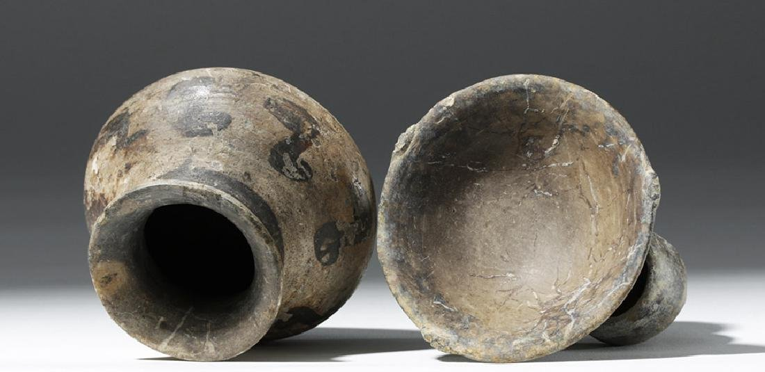 Pair of Mixtec Pottery Vessels - 5