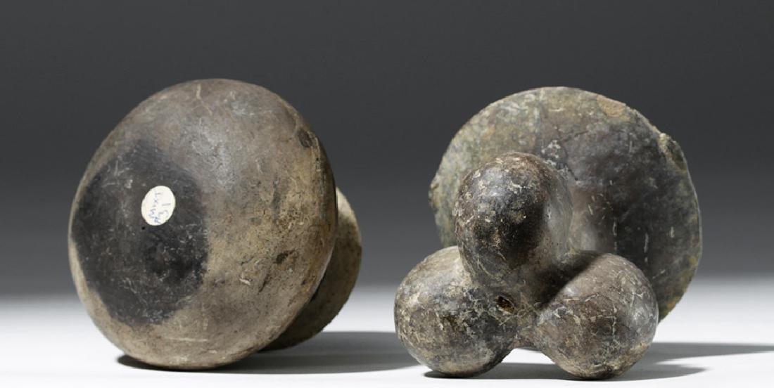 Pair of Mixtec Pottery Vessels - 6