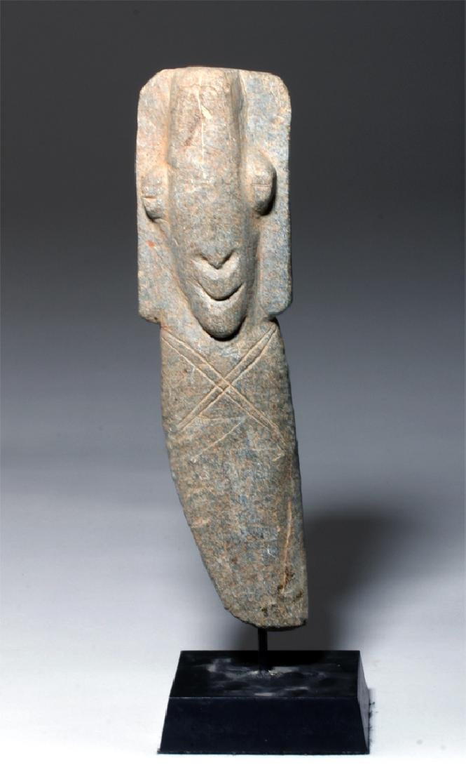 Ancient African Bura Stone Funerary Marker