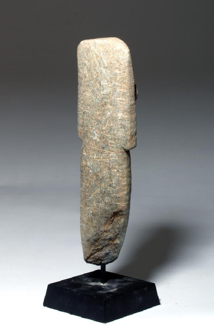 Ancient African Bura Stone Funerary Marker - 3