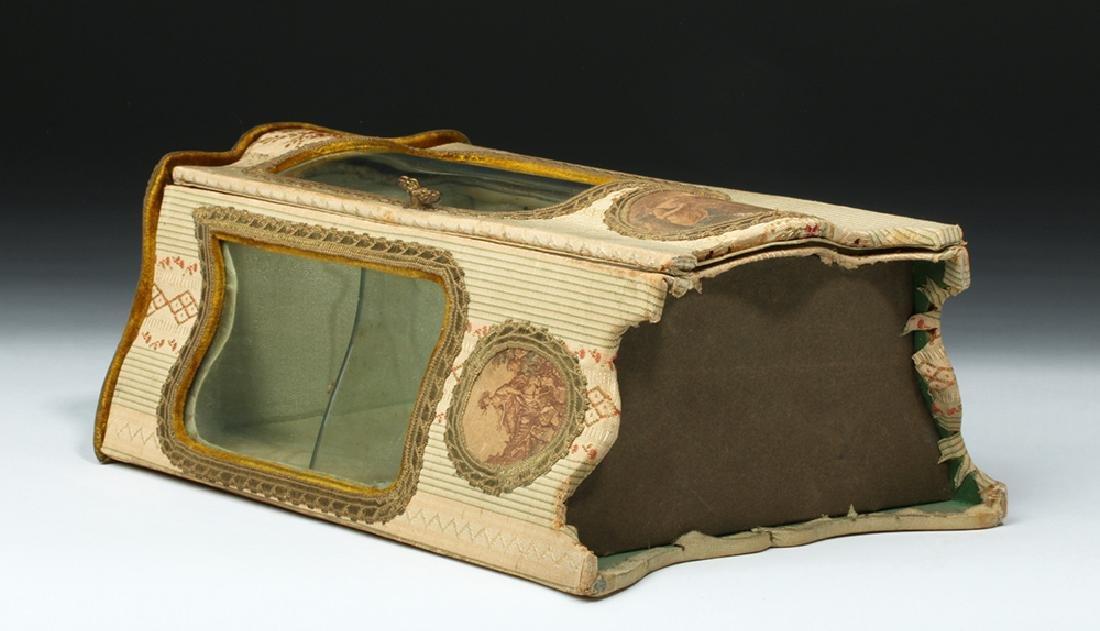 19th C. French Vernis Martin Miniature Hutch - 10