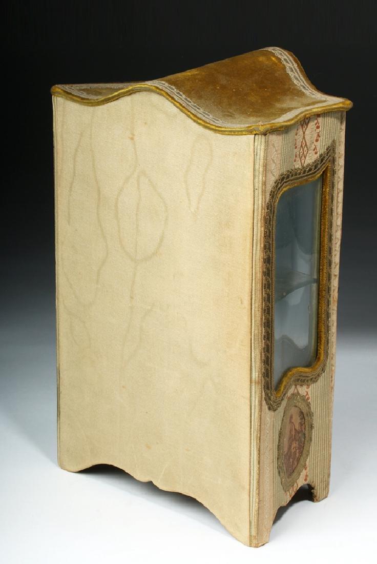 19th C. French Vernis Martin Miniature Hutch - 4