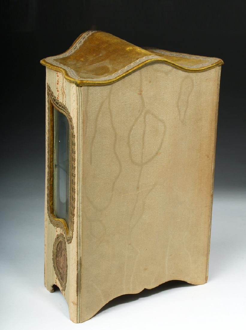 19th C. French Vernis Martin Miniature Hutch - 5