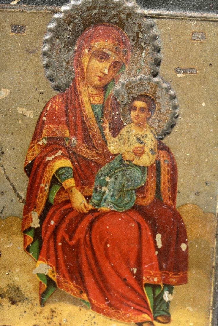 19th C. Russian Icon - Mother of God - 3