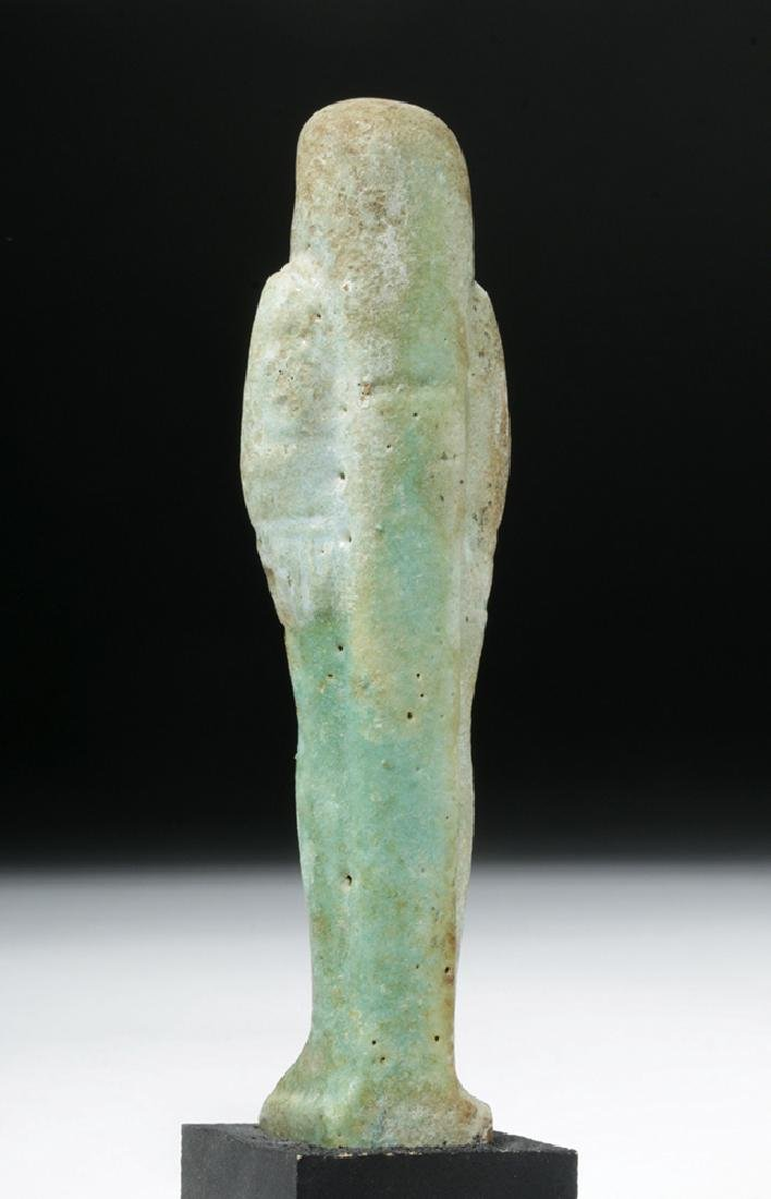 Egyptian Late Period Faience Ushabti - 3