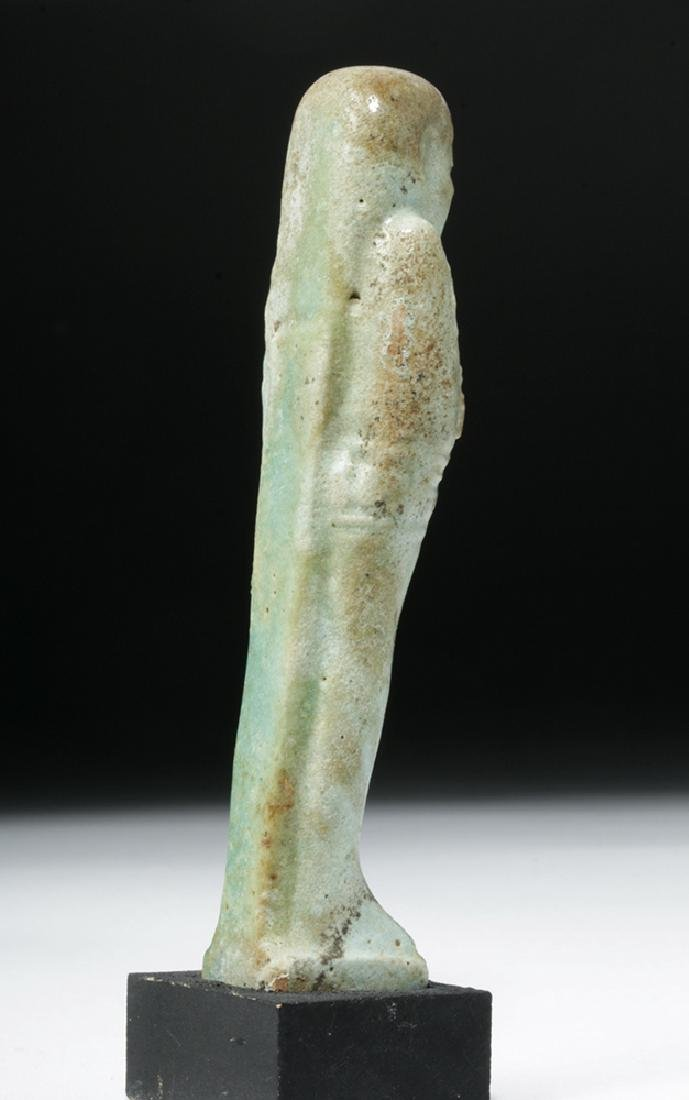 Egyptian Late Period Faience Ushabti - 4