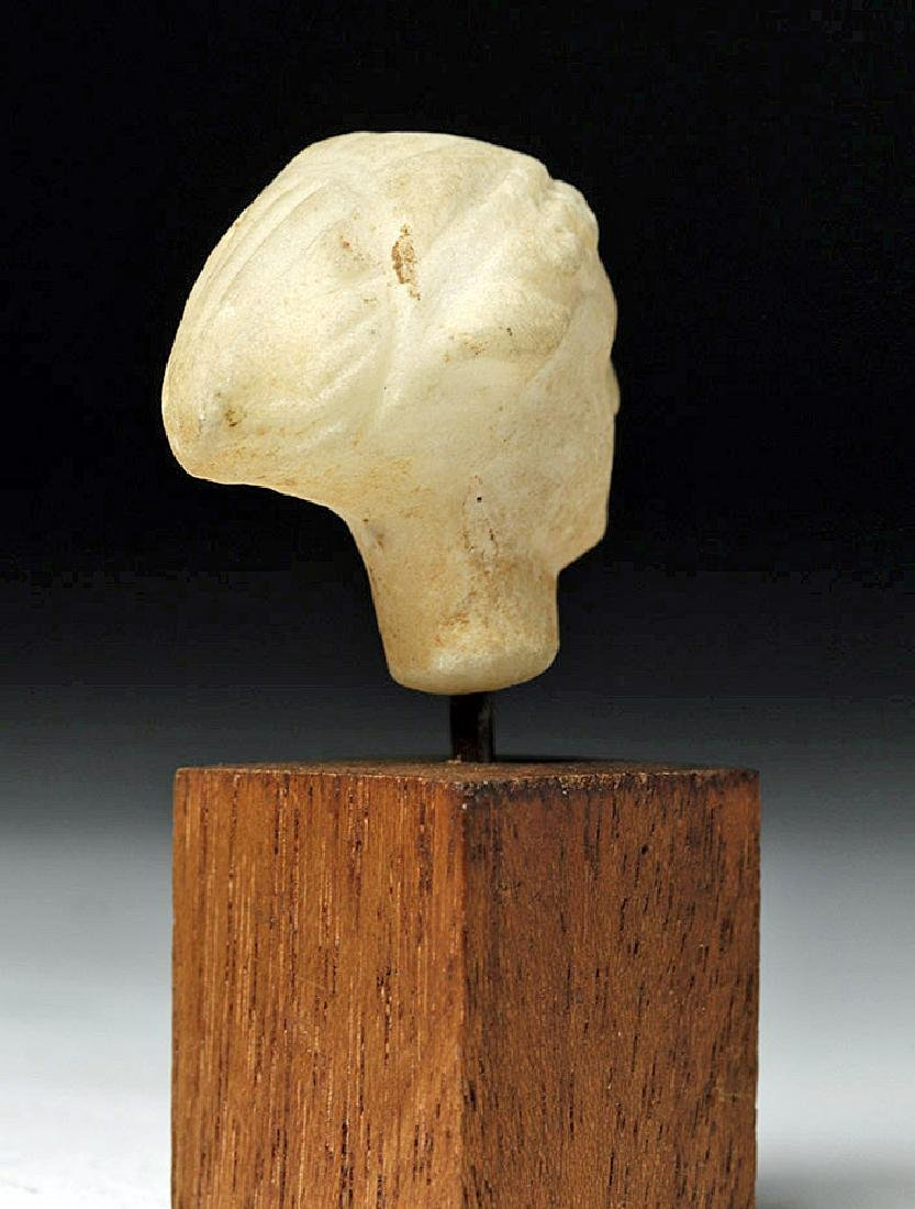 Hellenistic Marble Head of Female - Aphrodite? - 3
