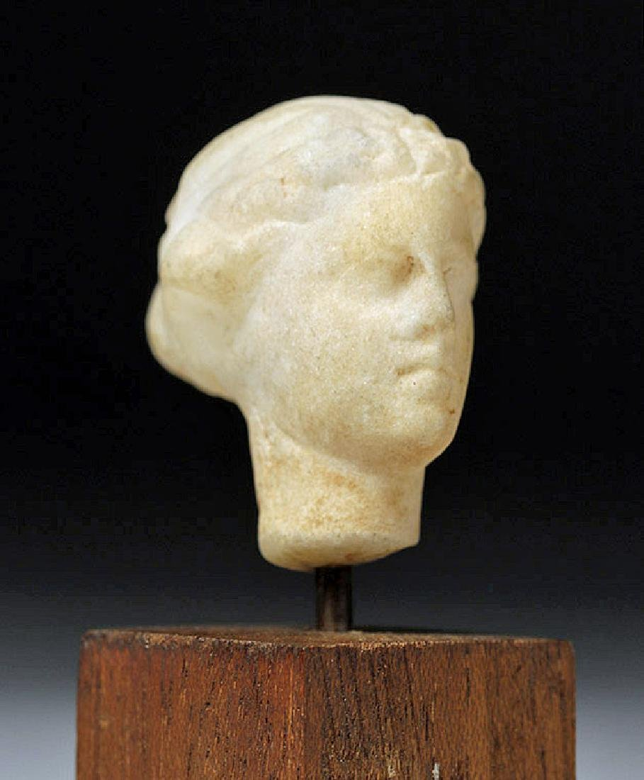 Hellenistic Marble Head of Female - Aphrodite? - 4