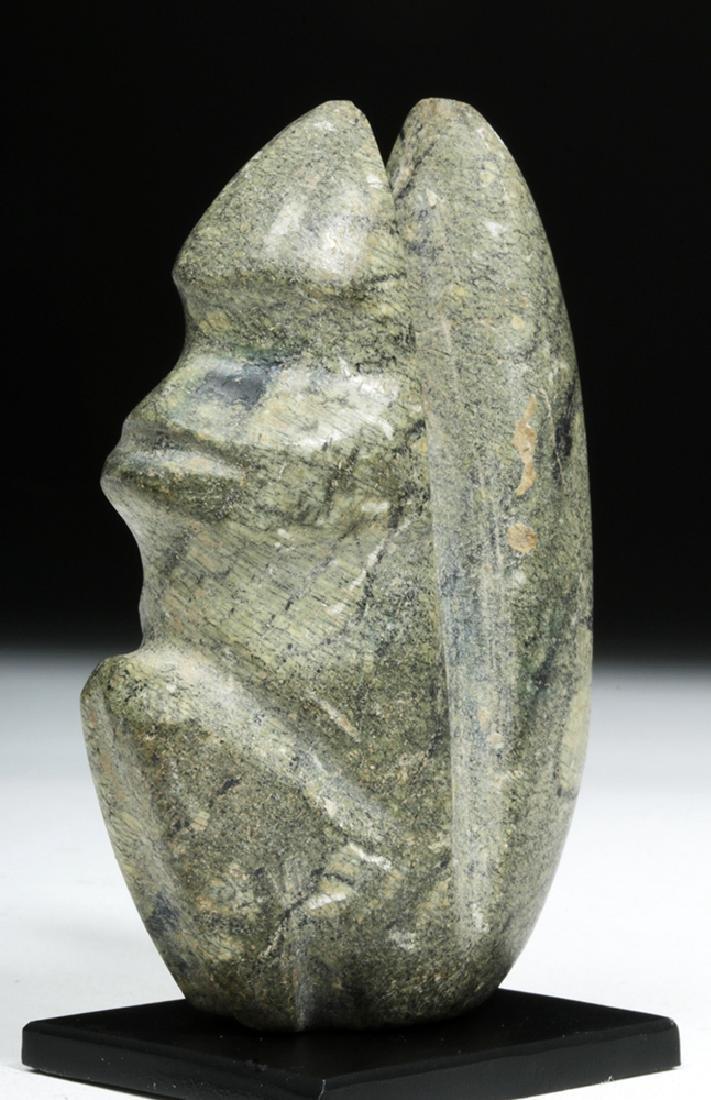 Guerrero Mezcala Stone Seated Monkey