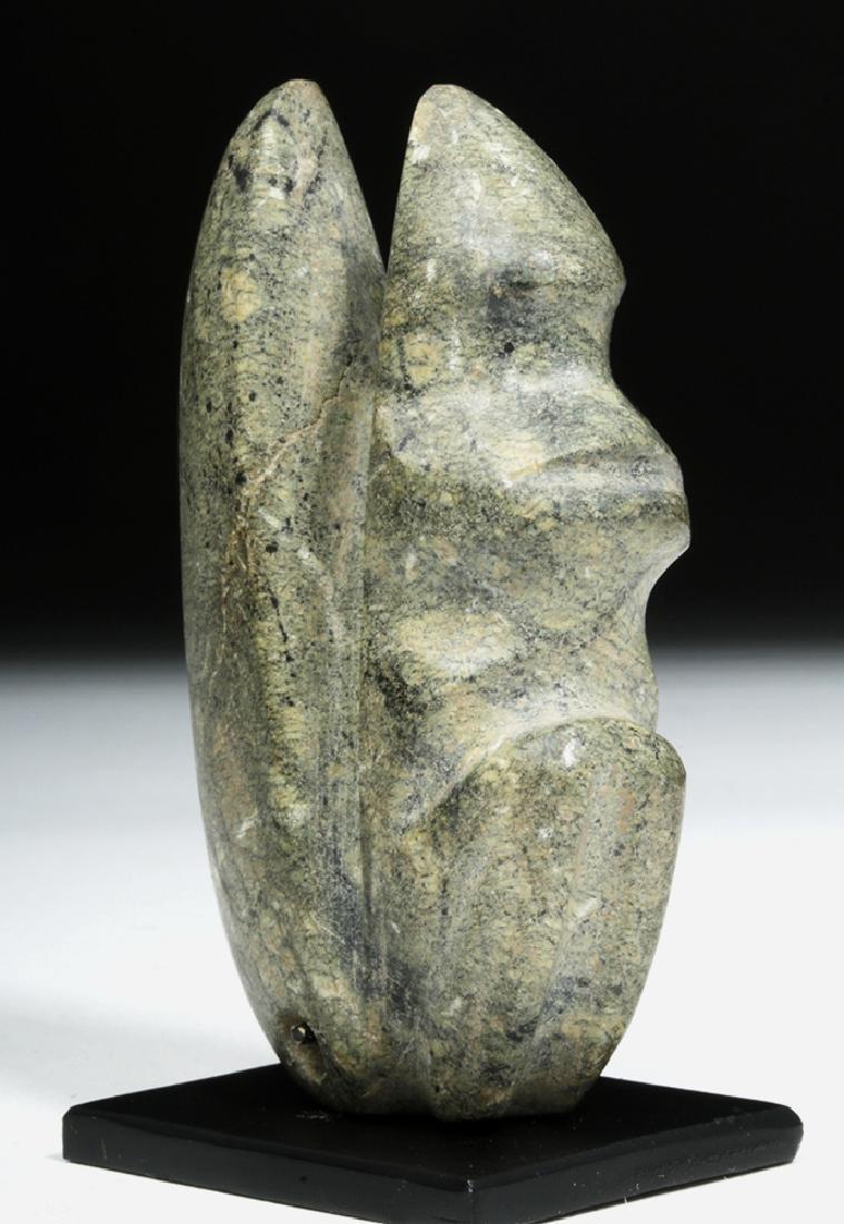 Guerrero Mezcala Stone Seated Monkey - 3
