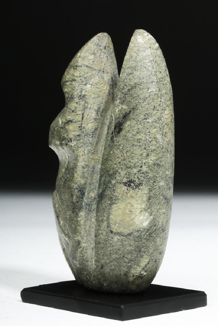 Guerrero Mezcala Stone Seated Monkey - 4