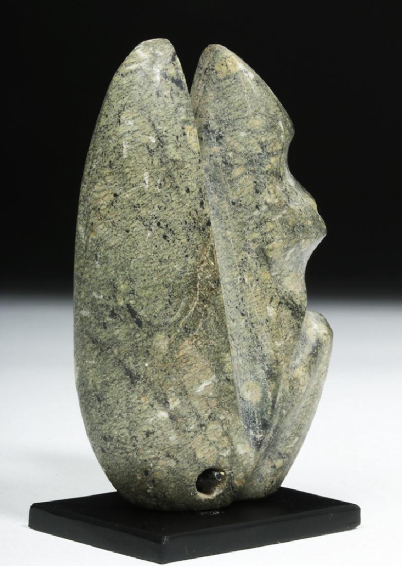 Guerrero Mezcala Stone Seated Monkey - 5