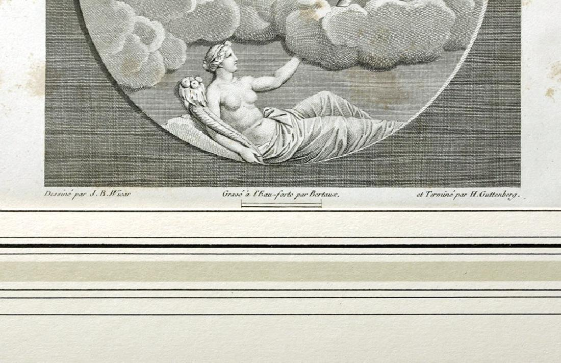 19th C. European Etching - Apollo & Diana, after  Wicar - 3