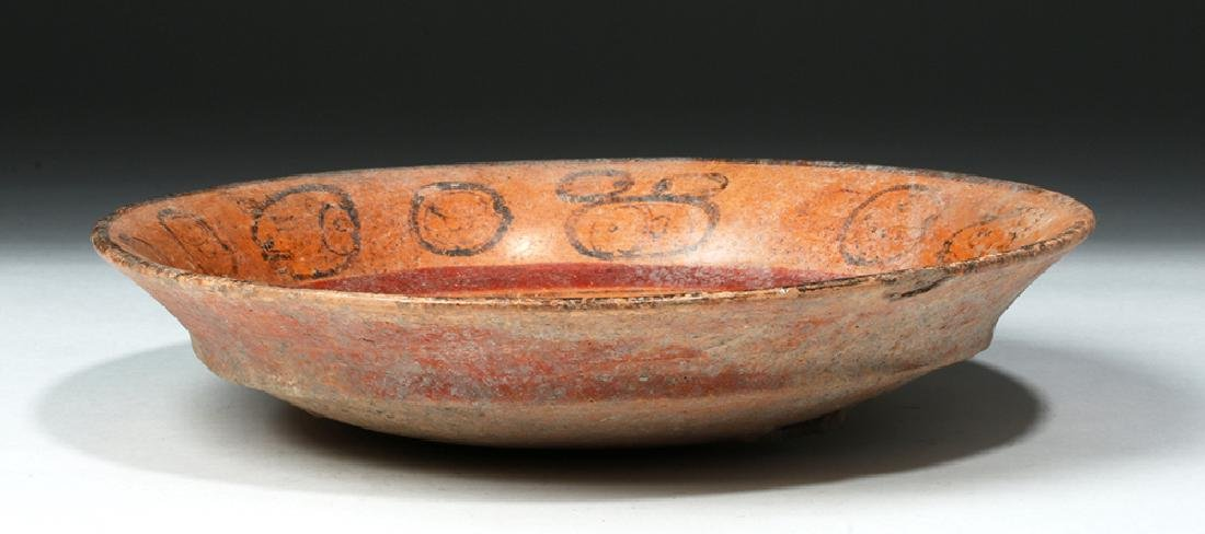 Mayan Pottery Tripod Bowl - Noble's Face - 3