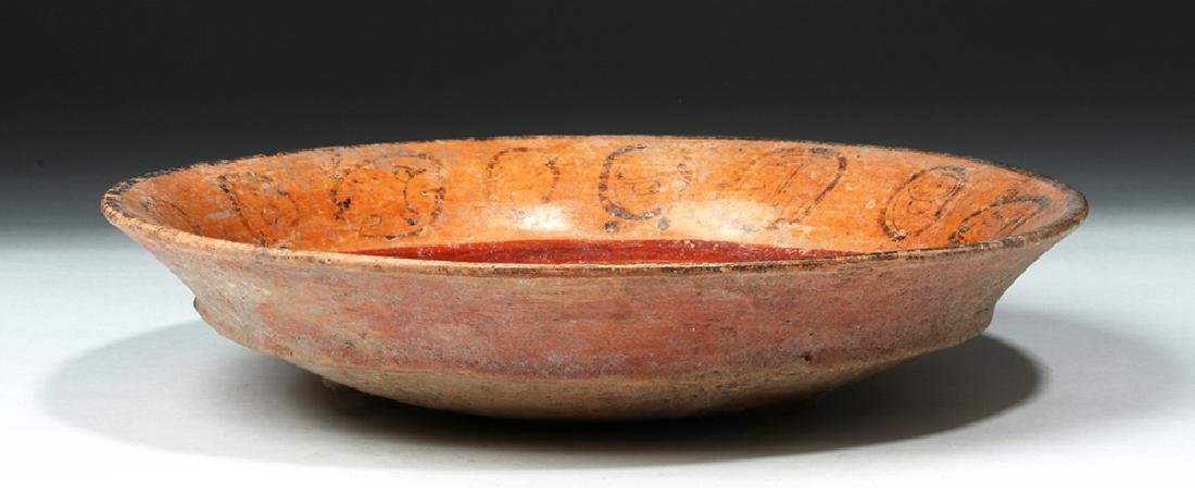 Mayan Pottery Tripod Bowl - Noble's Face - 5