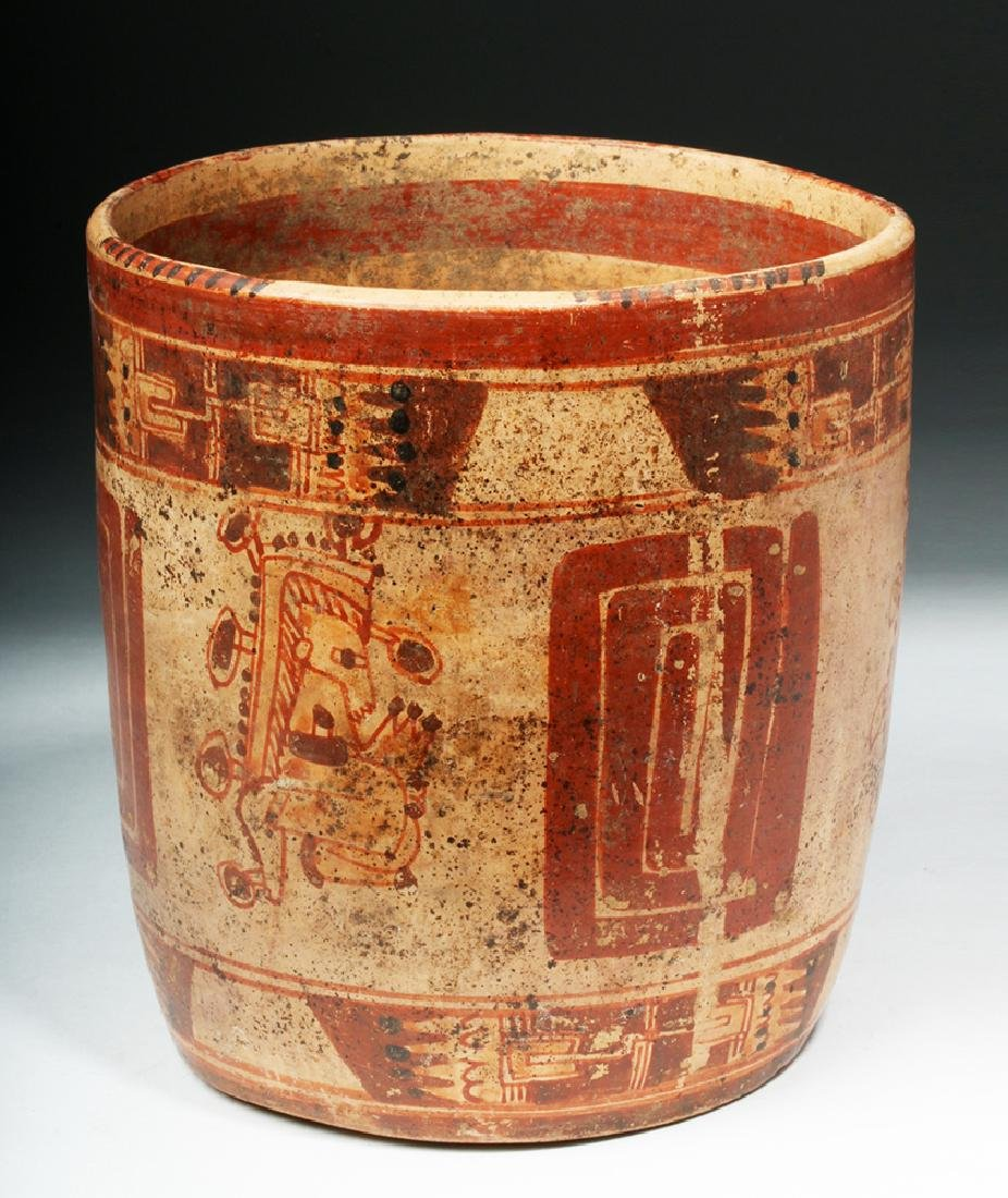 Mayan Ulua Valley Polychrome Cocoa Cup - 2