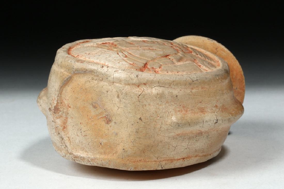 Fine Mayan Pottery Poison Jar - Scribes - 7