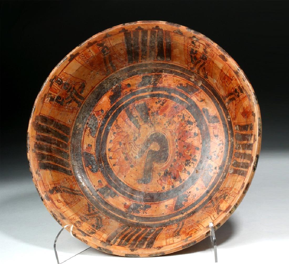 Mayan Ulua Valley Pottery Plate - Turkey & Lovers