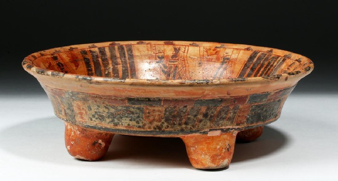 Mayan Ulua Valley Pottery Plate - Turkey & Lovers - 3