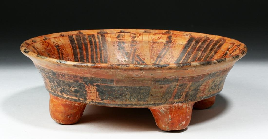 Mayan Ulua Valley Pottery Plate - Turkey & Lovers - 4