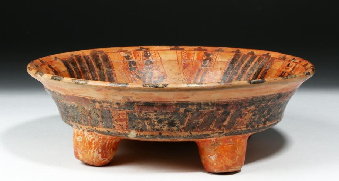 Mayan Ulua Valley Pottery Plate - Turkey & Lovers - 5