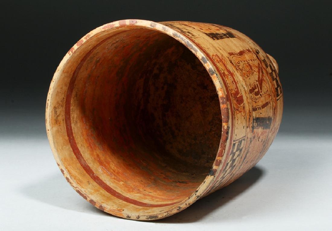 Mayan Ulua Valley Polychrome Cylinder - 5