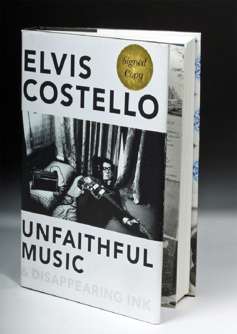 Unfaithful Music Disappearing Ink by Elvis Costello