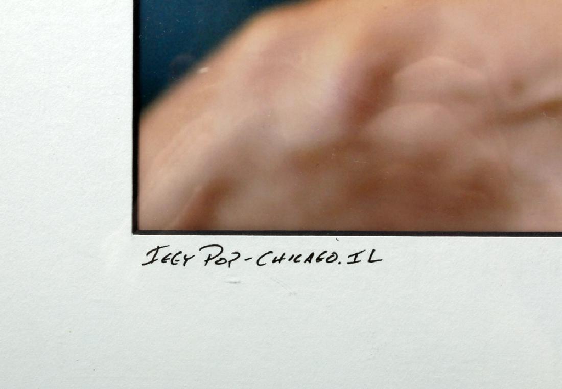"""Iggy Pop"" by Tim Hiatt, signed by Artist - 2"
