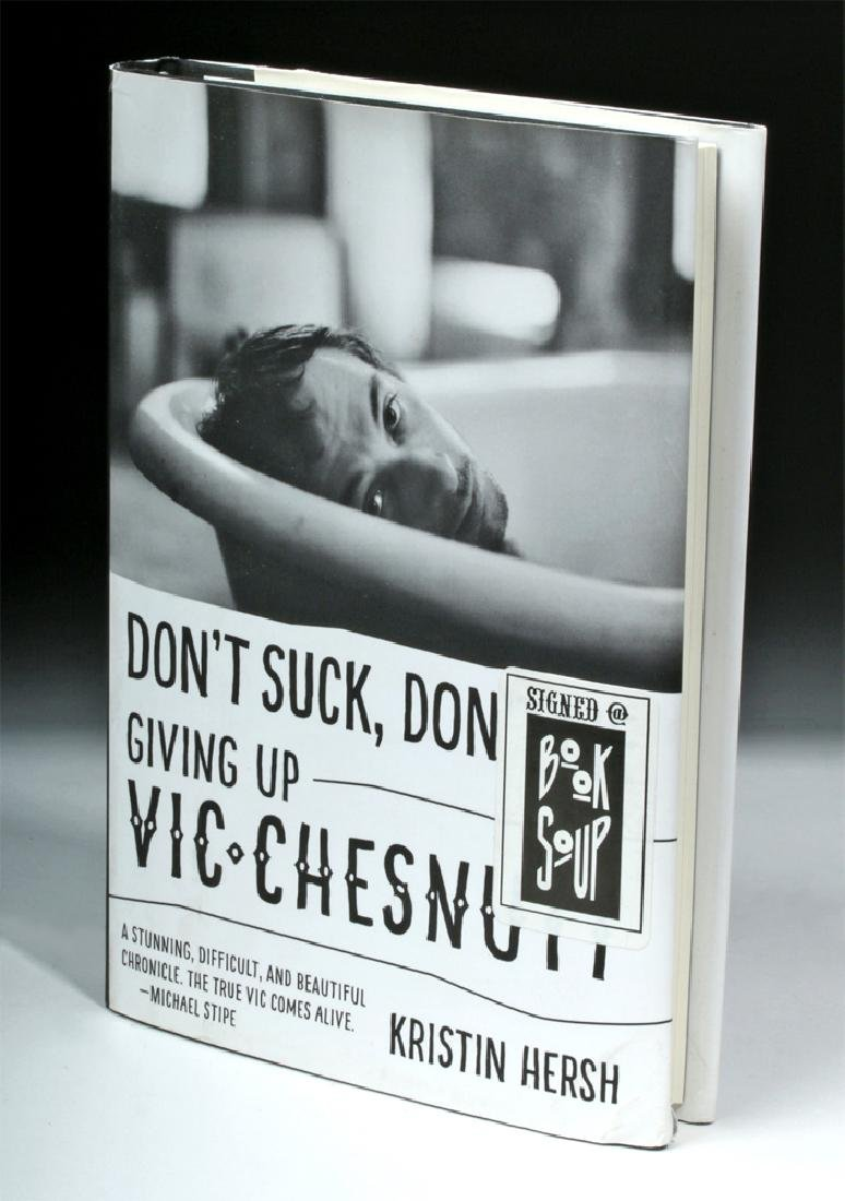 Don't Suck, Don't Die: Giving Up Vic Chesnutt