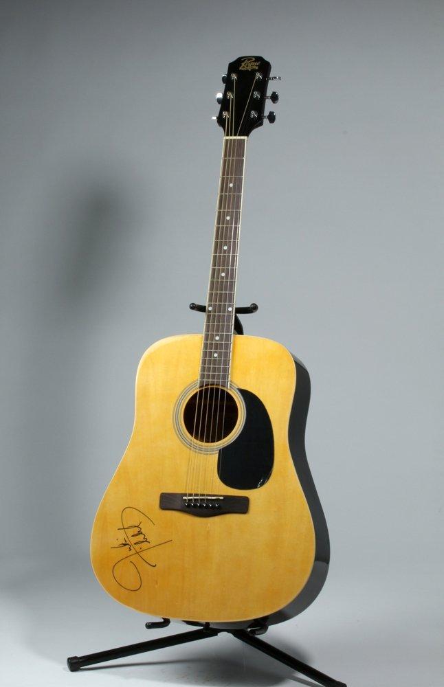 Rogue Guitar Signed by Justin Timberlake