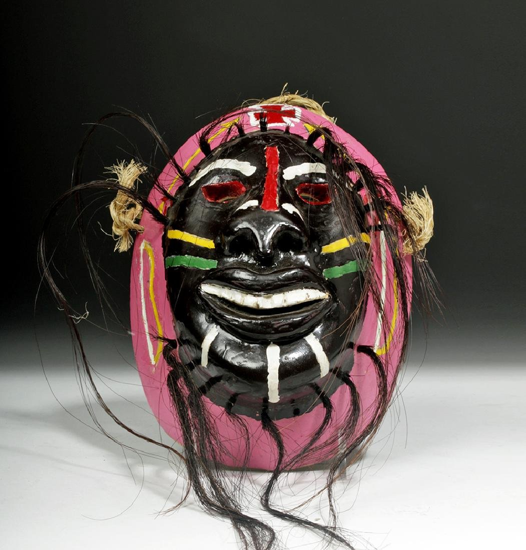 Mexican Mayo Indian Pascola Mask by Guadalupe Vadon - 2