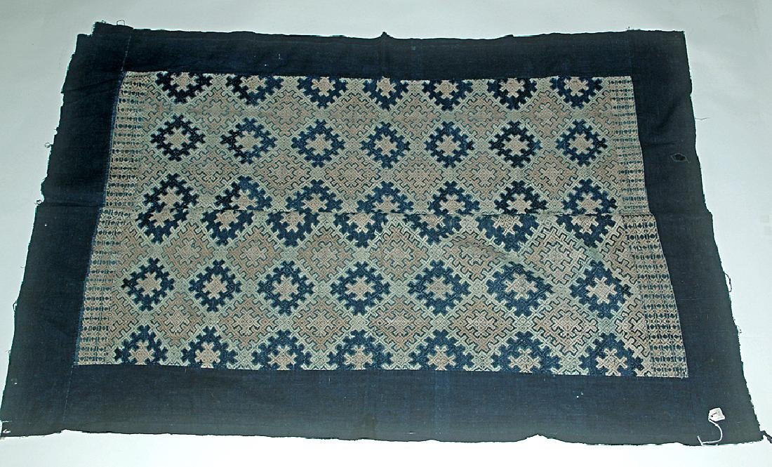 19th C. Chinese Yao / Mien Wedding Blanket, ex-Historia - 4