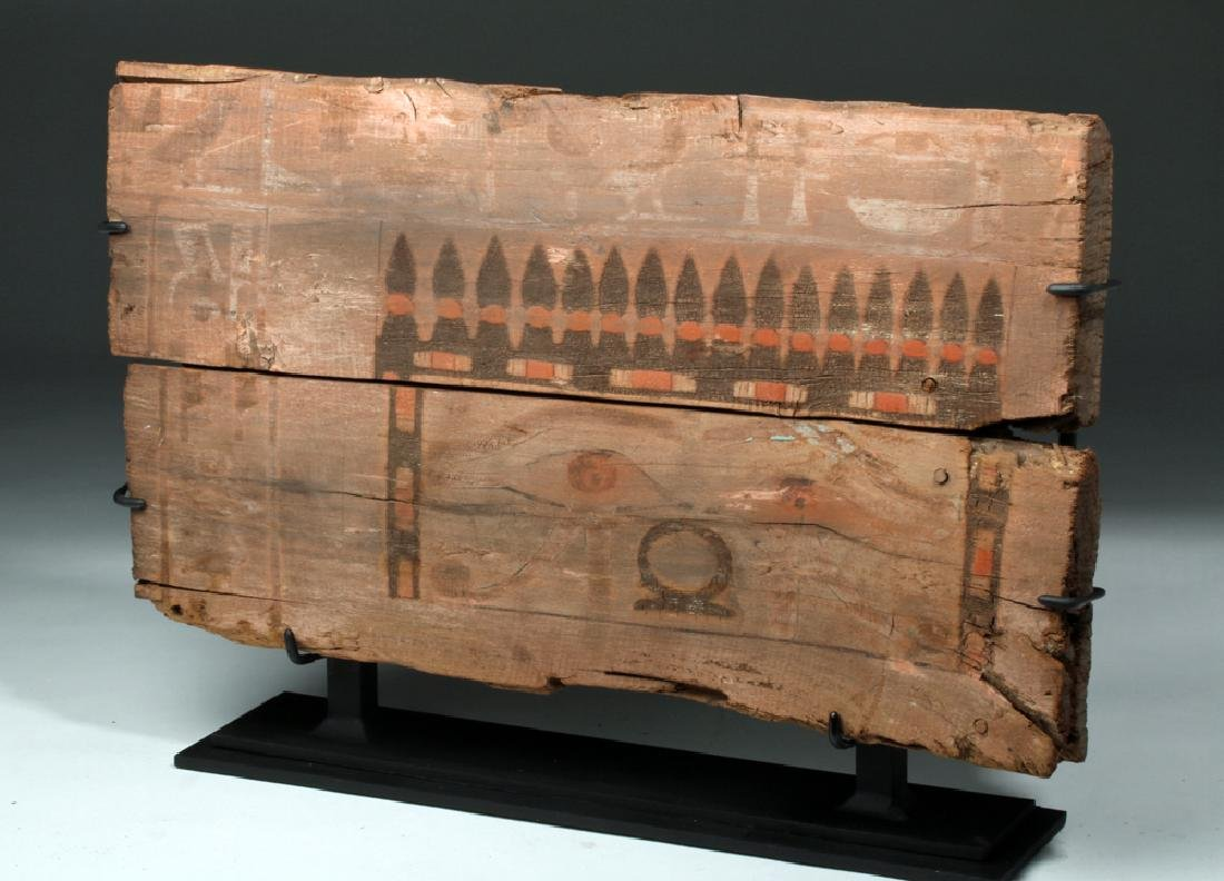 Translated Egyptian Middle Kingdom Coffin Panel