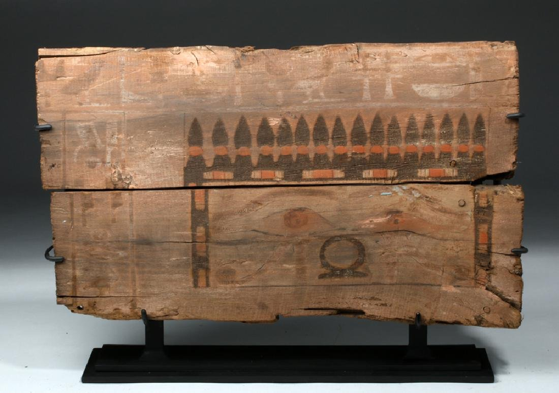 Translated Egyptian Middle Kingdom Coffin Panel - 2