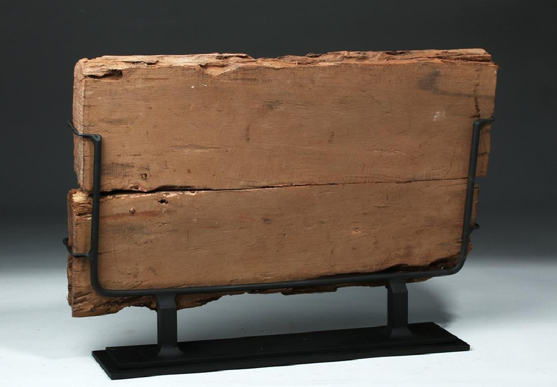 Translated Egyptian Middle Kingdom Coffin Panel - 3